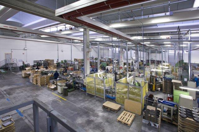 Lumenflon produzione e logistica